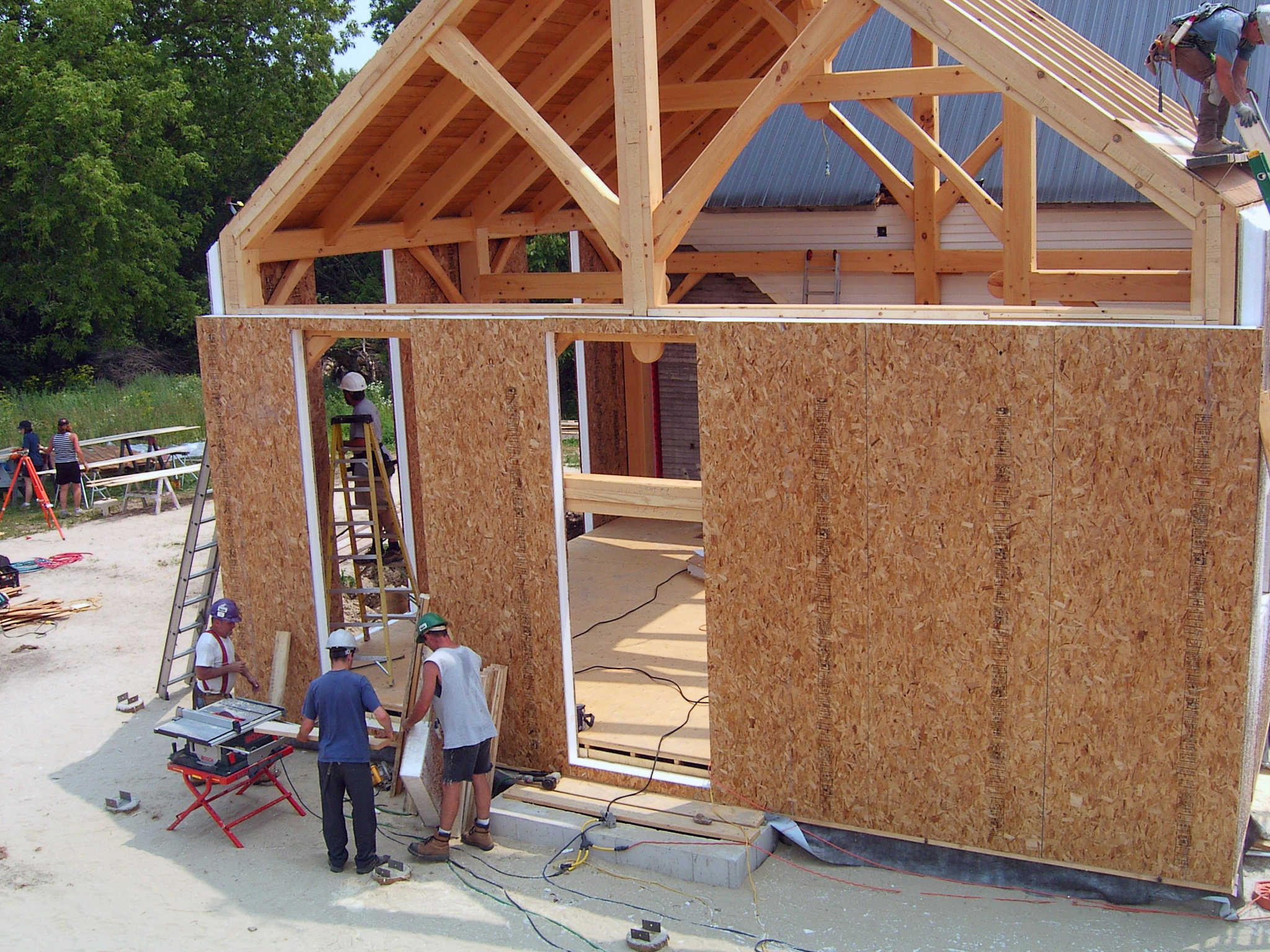 Farm home for Home construction process
